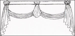 French Country Valance